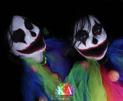 Scary Clown Makeup w/ tutorial
