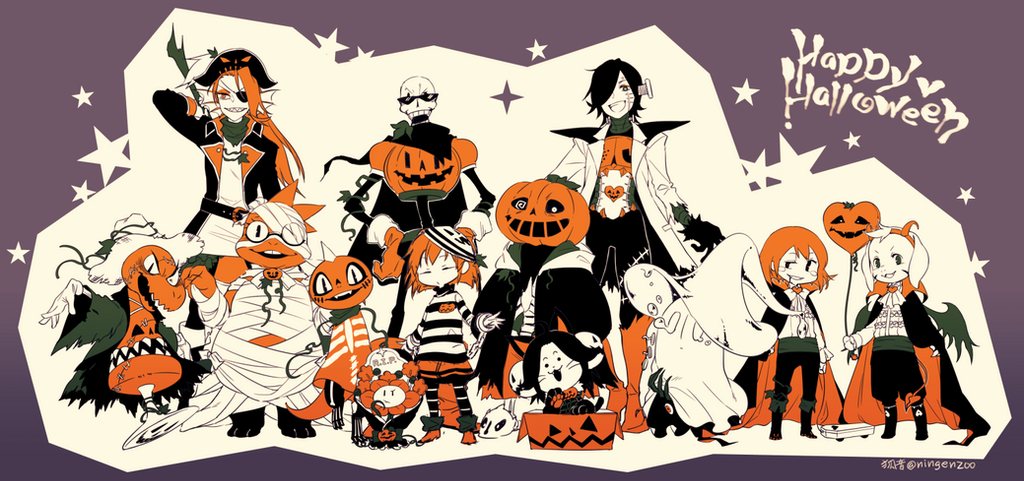 Halloween Monsters! by kohn-nz on DeviantArt