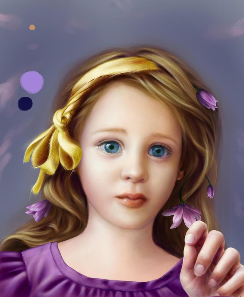 Daughter WIP 2 by Ameryn