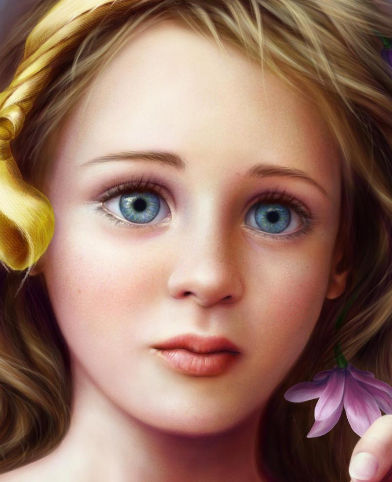 Daughter WIP 3 by Ameryn