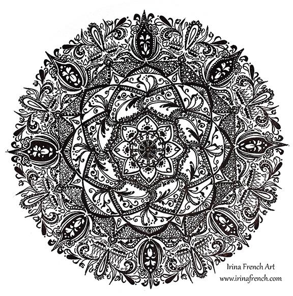 Mandala 2 by Ameryn