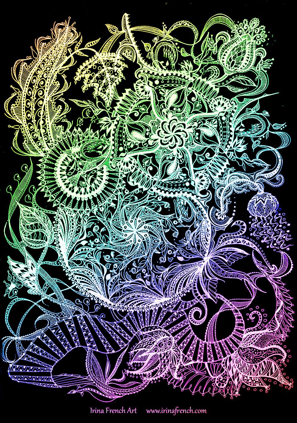 Dragon mandala coloured by ameryn on deviantart - Mandala dragon ...