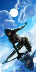 thief on a mission( dont comment its mid edit) by acouaria