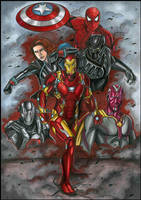 Team Iron Man by EnNoirEtGris