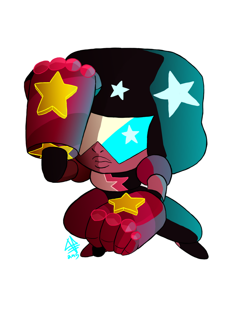 Another cutesy style Steven Universe sticker design.