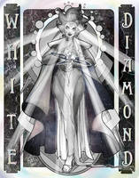 White Diamond by abstractmouse
