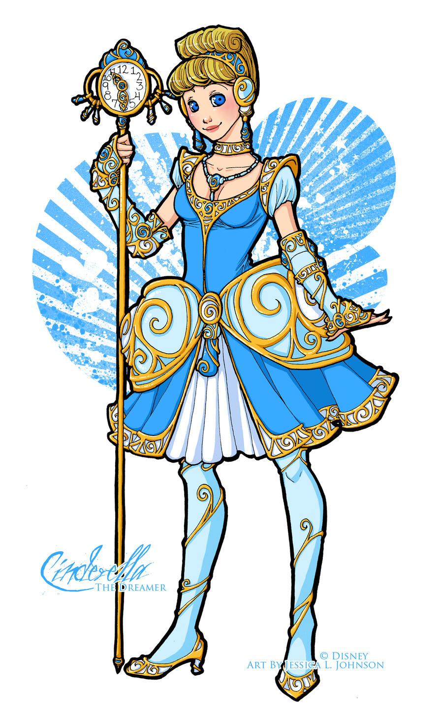 Disney Magical Girl - Cinderella by van-etheran