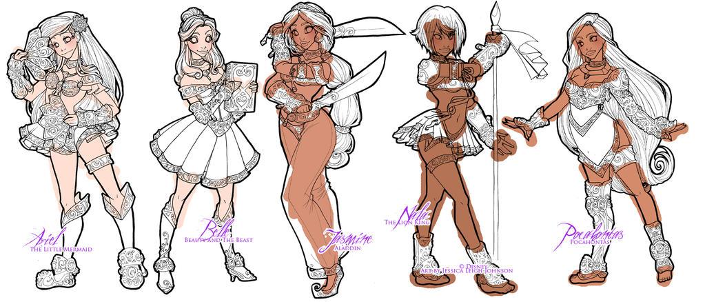 Disney Magical Girl Progress 2 By Van etheran On DeviantArt