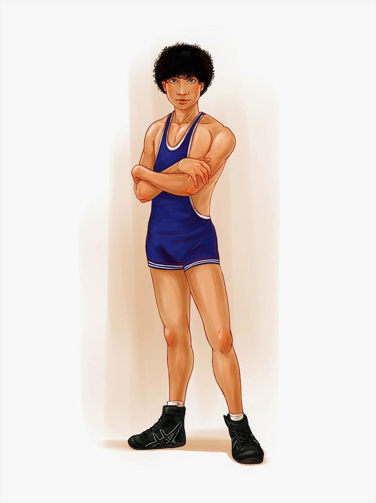 HappyChris: School Wrestler by HappyChris