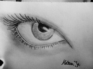 Eye real by MelissaJa