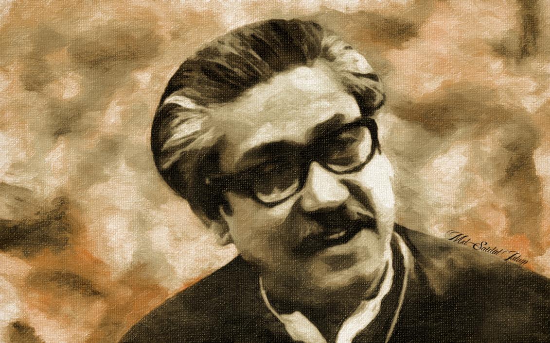 Portrait Of Bangabandhu Sheikh <b>Mujibur Rahman</b> by SaidulIslam <b>...</b> - portrait_of_bangabandhu_sheikh_mujibur_rahman_by_saidulislam-d6u7af9