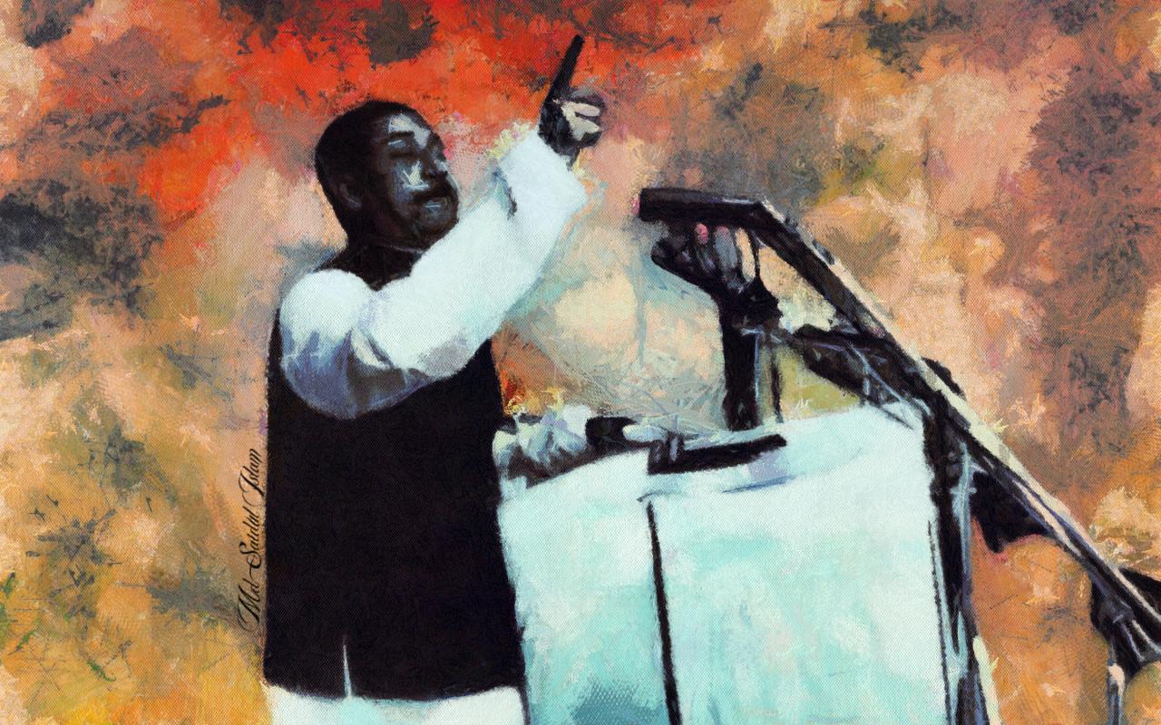 7th March 1971 Speech of Sheikh Mujibur Rahman by