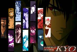 Samurai Deeper Kyo wallpaper by WJ2050