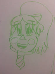 MINDA ON A WHITE BOARD! by CraCRaEve1103