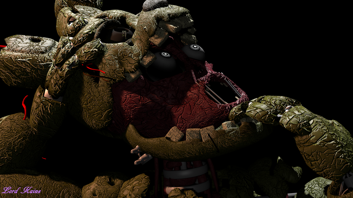 Springtrap screen remake 3 3 by lord kaine on deviantart