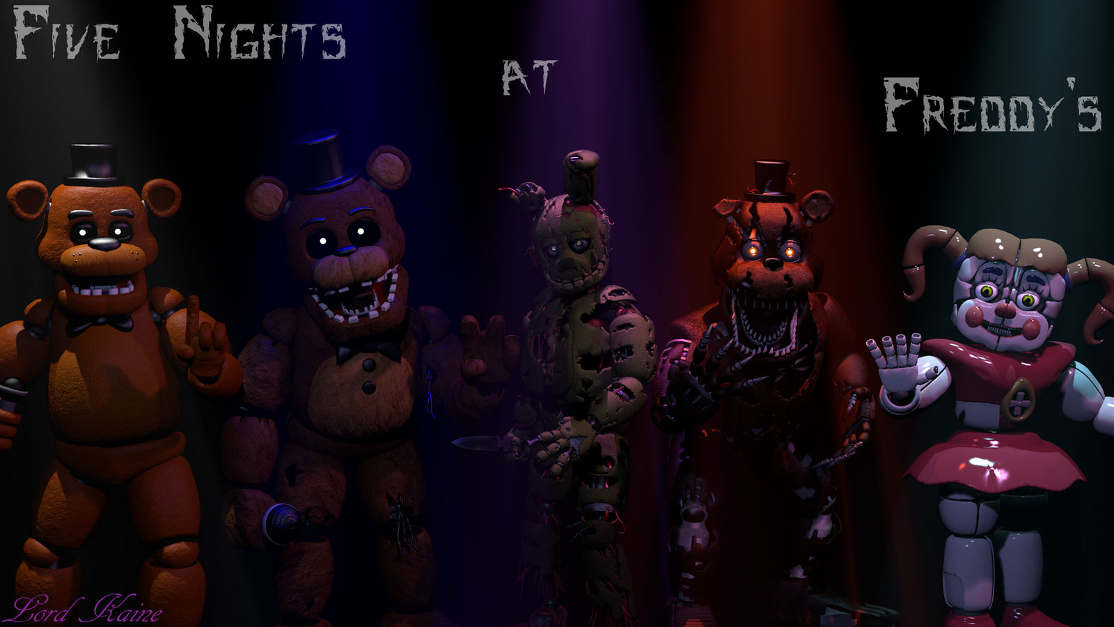Five Nights At Freddy S Wallpaper By Lord Kaine On Deviantart