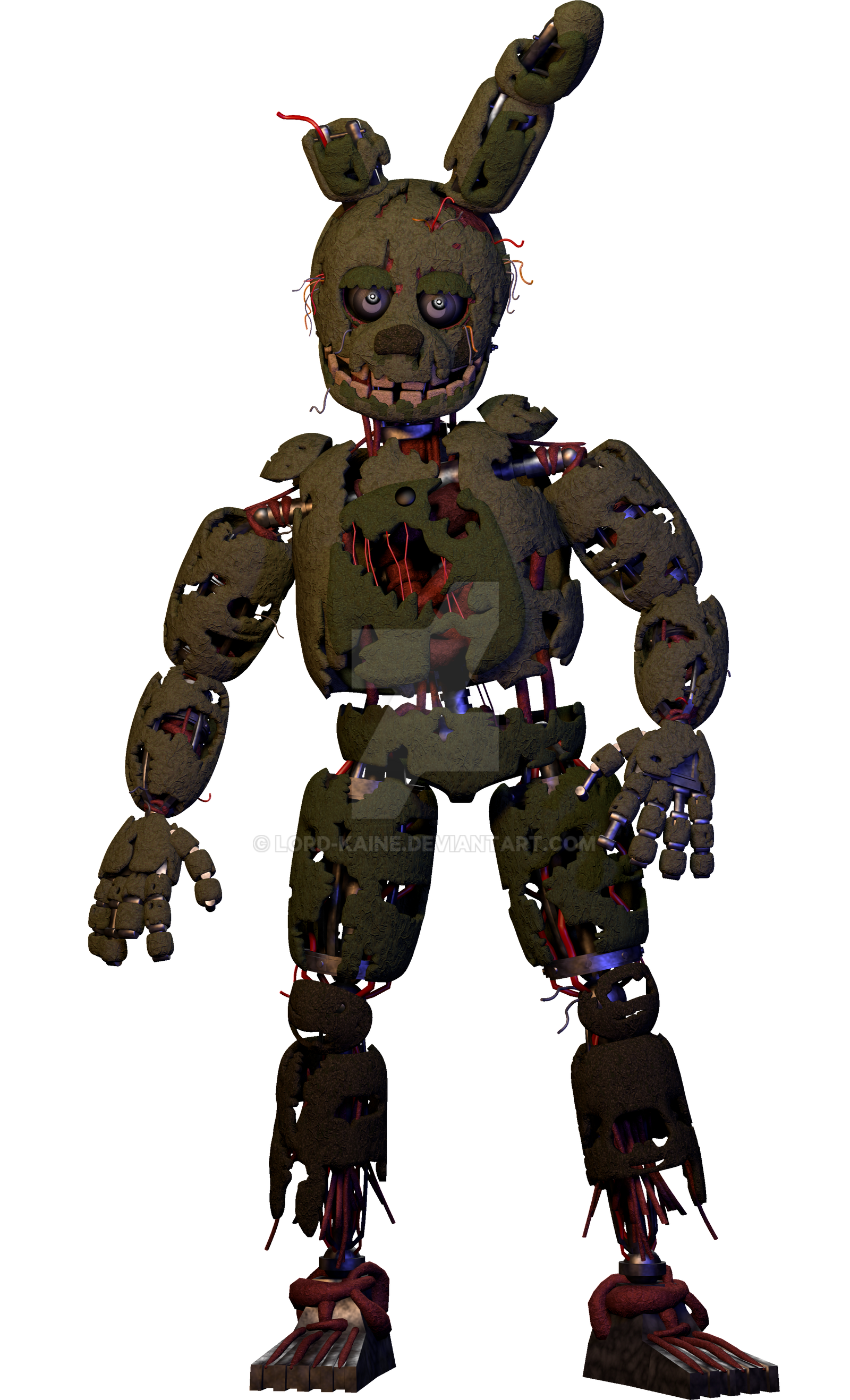 Springtrap by Lord-Kaine on DeviantArt
