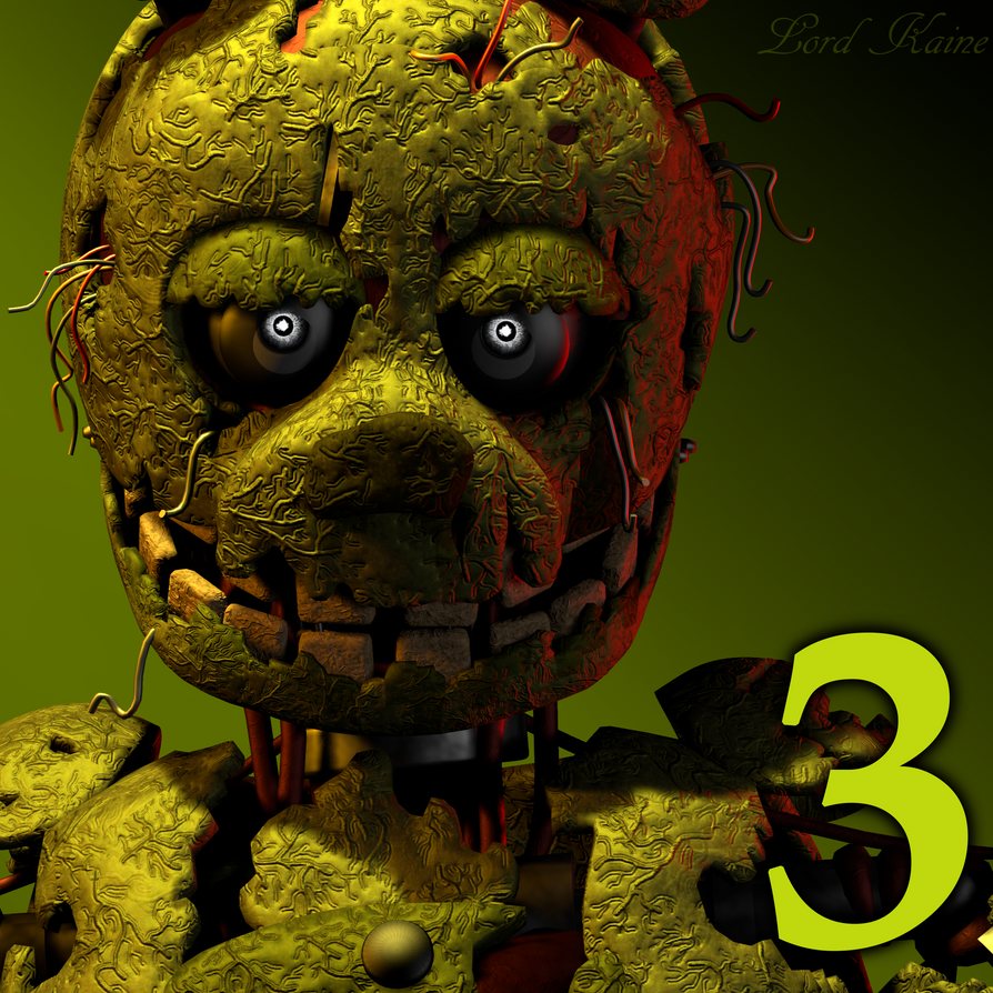 FNaF 3 Icon Remake By Lord-Kaine On DeviantArt