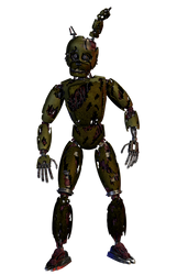 Stylized William Afton Wip (complete) by Lord-Kaine