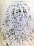 Shion and Mion (Higurashi no Naku Koro ni)