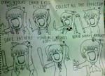 Horror Game Girls x All The Things! Meme