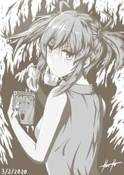 A Girl Who Read A Clockwork Orange
