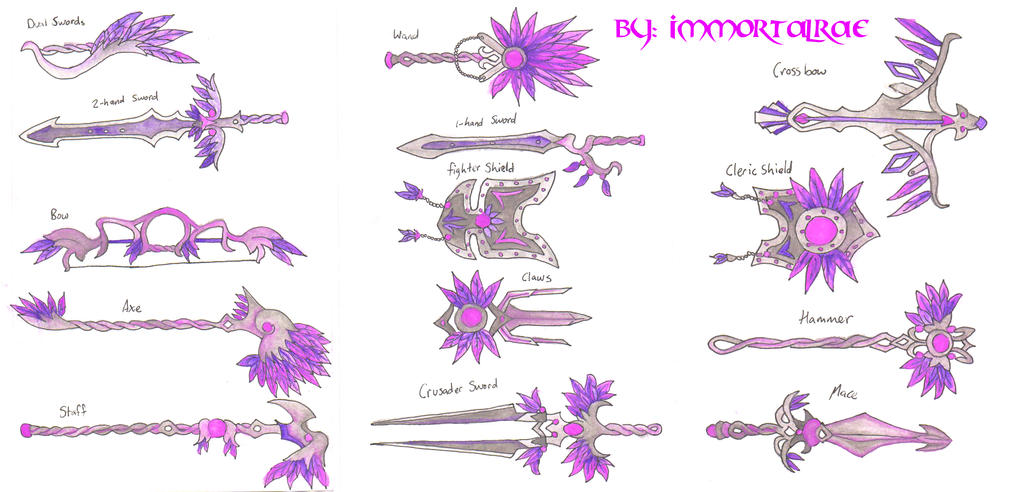 fantasy_feather_weapons_by_immortalrae-db6xdt4.jpg