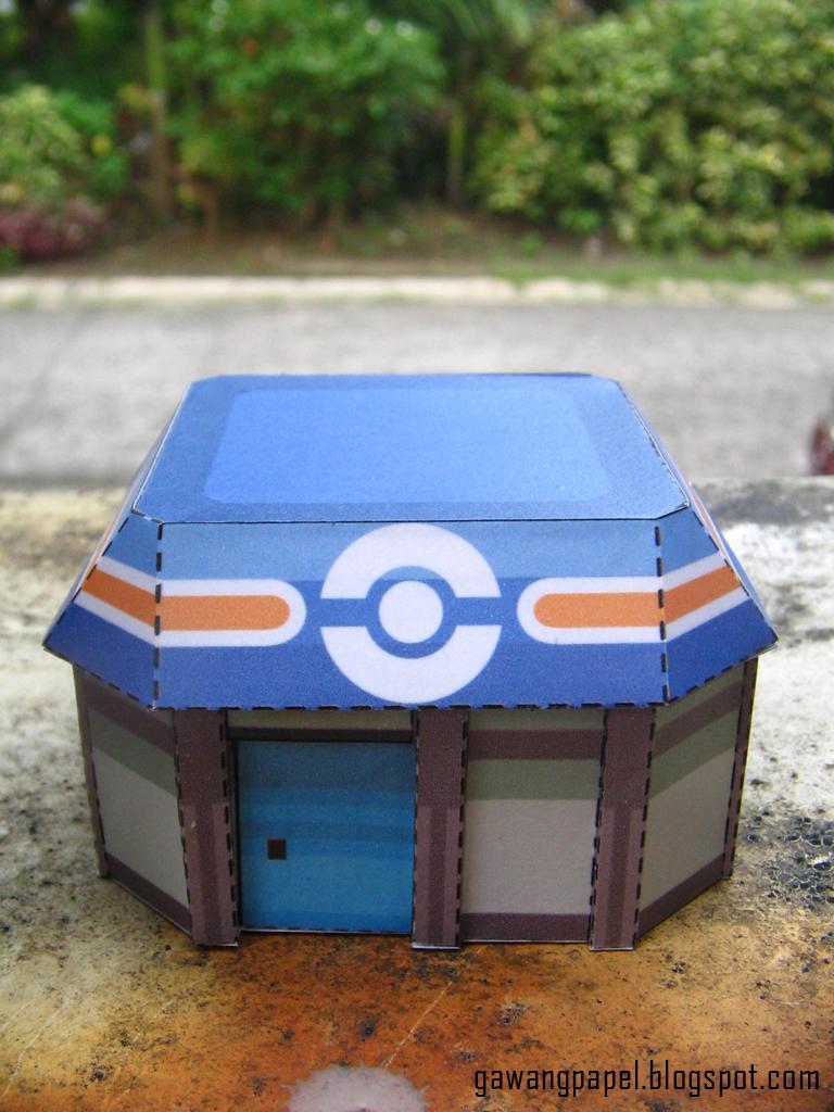 Pokemon Mart Papercraft By Kayu05 On DeviantArt