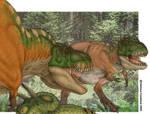 Tyrannosaurus Duel