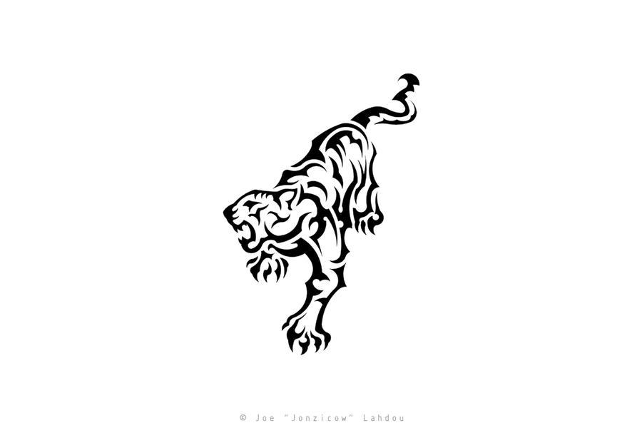 Tribal Tiger Tattoo by JONZICOW on DeviantArt