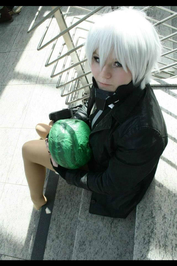Sweet Raiden Cosplay Watermelon by Moin2D
