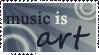 music is art by OlegVRK