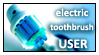electric toothbrush user by OlegVRK