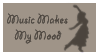 Music Makes My Mood by OlegVRK