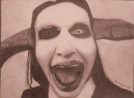 Manson again... by FreakyArtist