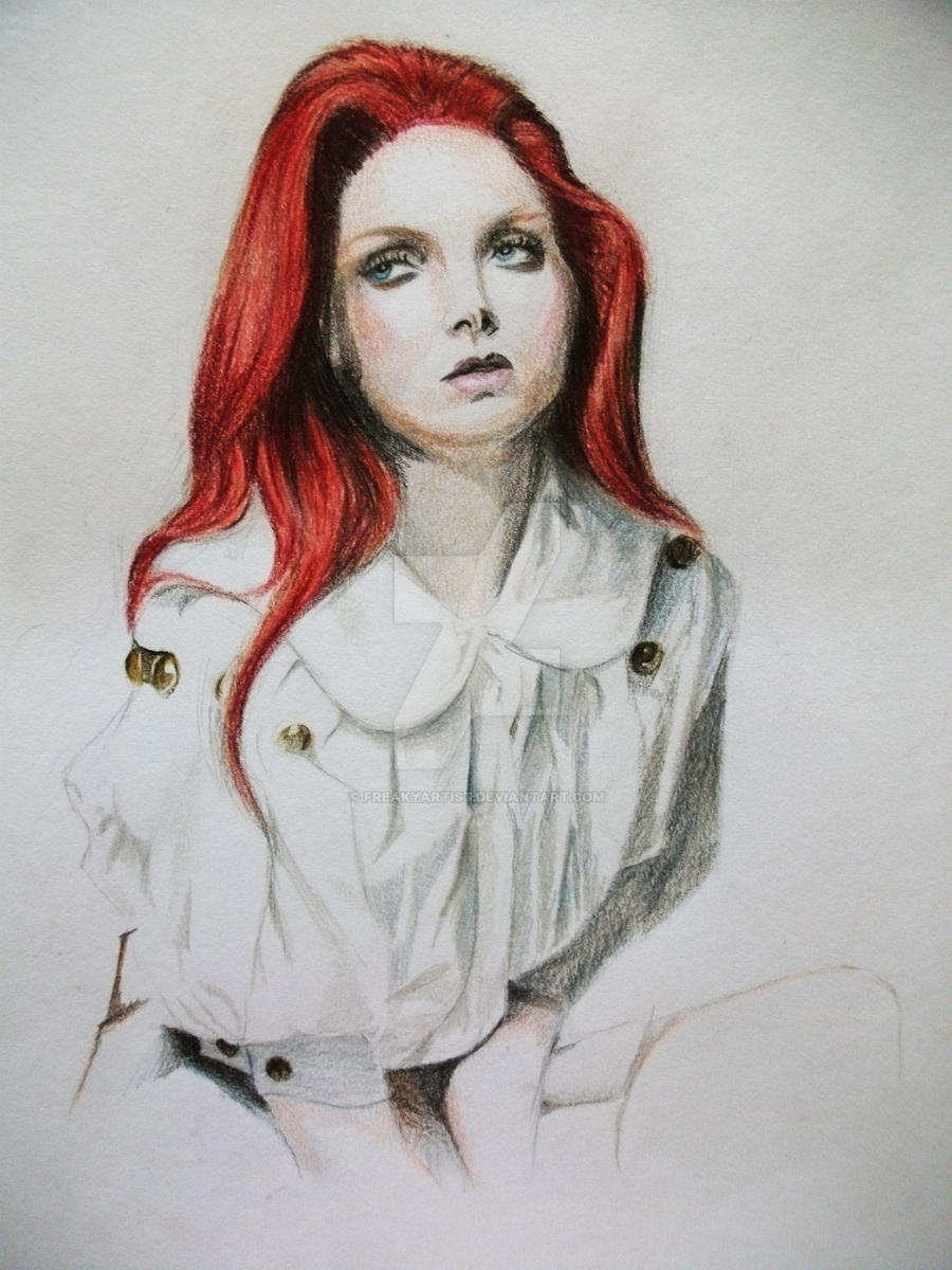 Lily Cole. by FreakyArtist