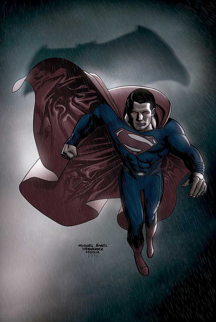 Man of Steel by miguelangelh