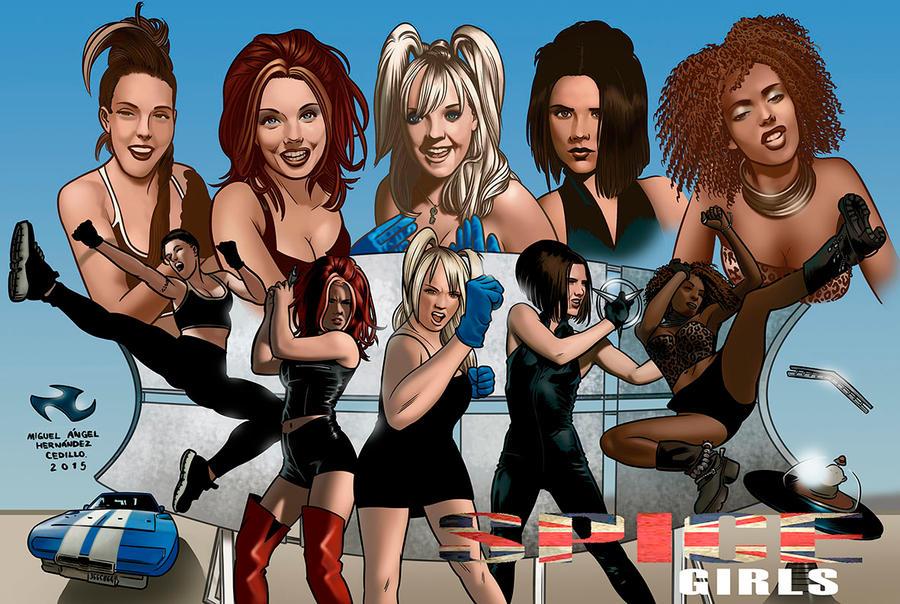 Spice Girls by miguelangelh