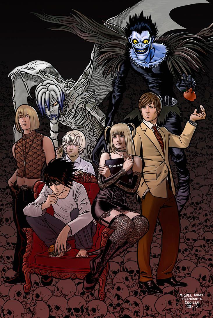 Death Note by miguelangelh