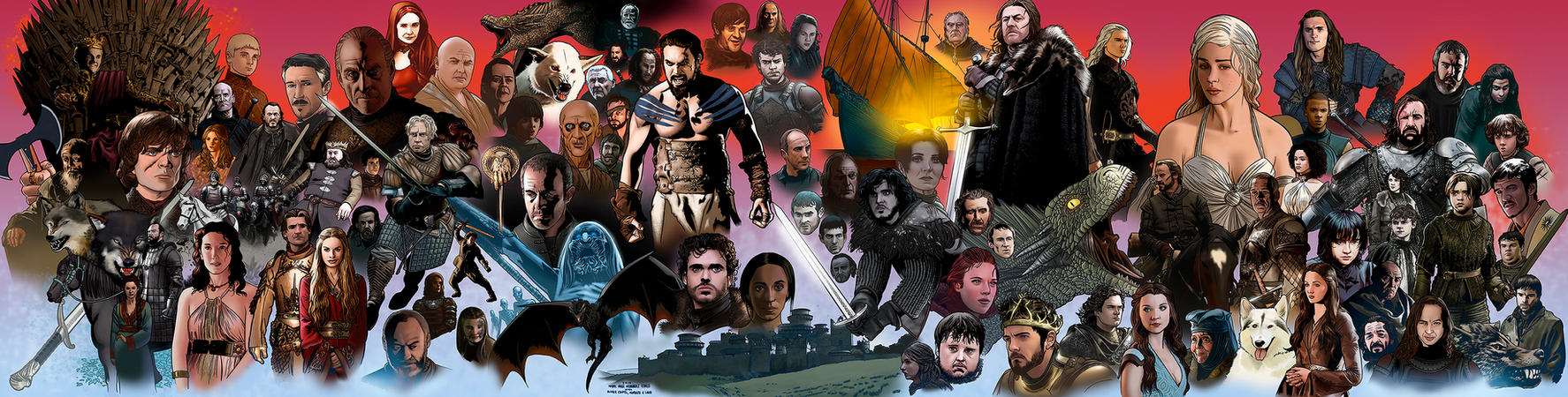 Game of thrones by miguelangelh