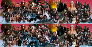 Game of thrones Before and after