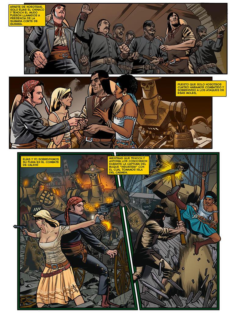 Page 3 Color MONSTRUOS DE VAPOR by miguelangelh