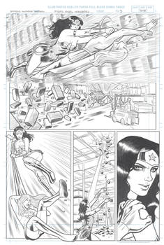 Wonder Woman sample page 3