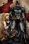 Batman-Black Canary