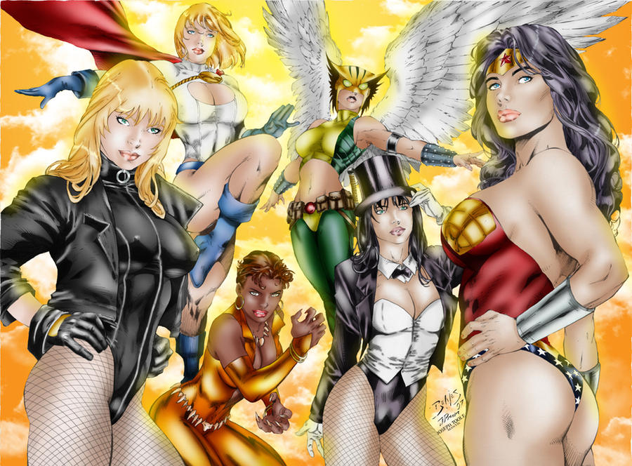 Women of Justice League by TVC-Designs