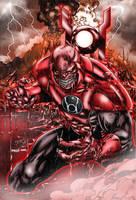 Red Lantern by TVC-Designs