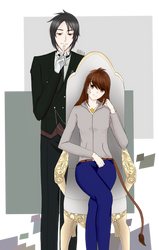 Zara Lionsdale And Sebastian [Request] by Levis009