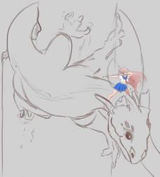 Dragon Master Sketch