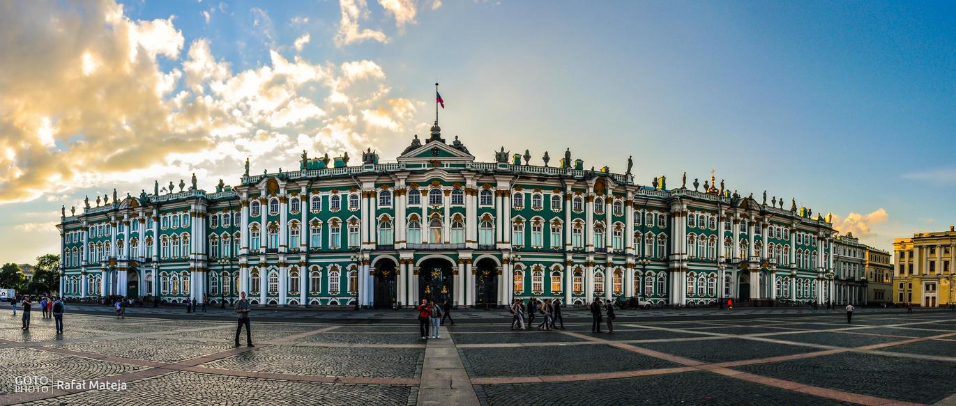 Petersburg Hermitage by RafalMateja