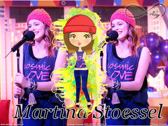 Doll Martina Stoessel by JessyTutosMoustache